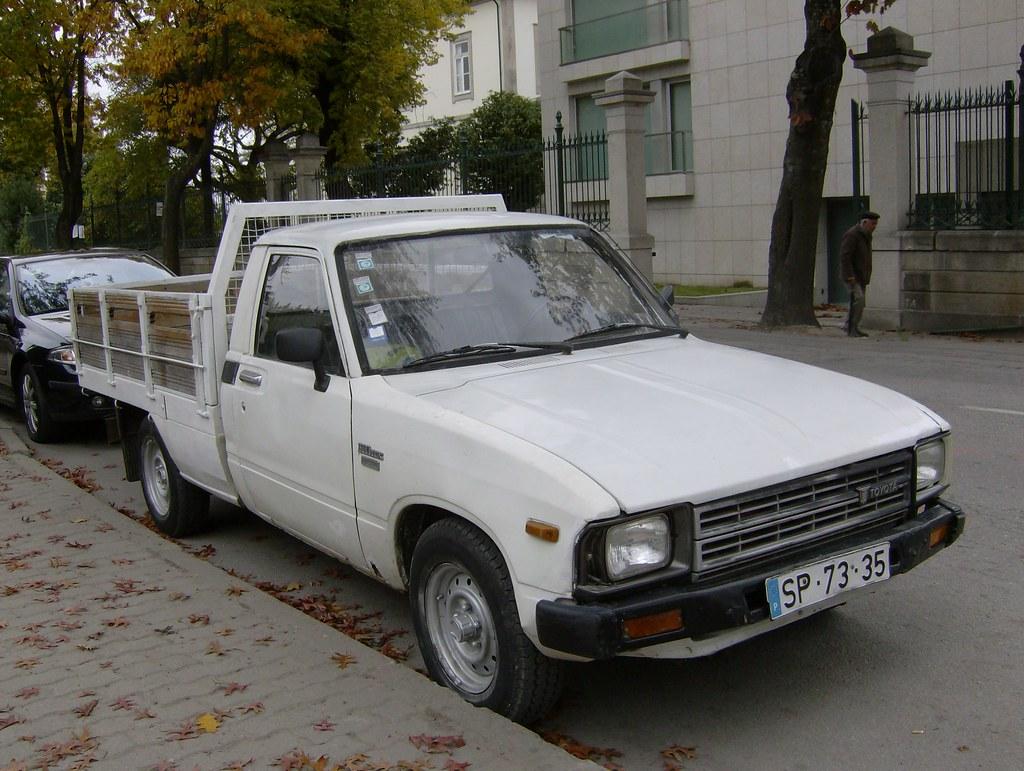 1982 Toyota Hilux Fiattipoelite Flickr