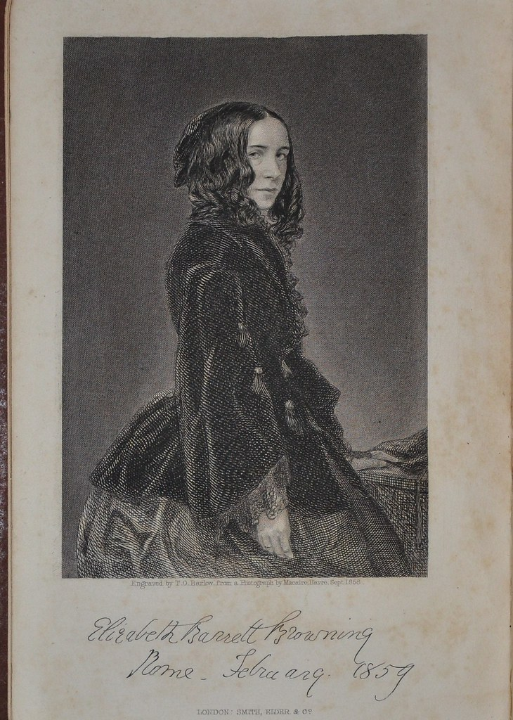 "elizabeth barrett browning and new york Elizabeth barrett browning on happiness as a moral obligation  a beautiful  clarion call for making creative work ""the filling joy of your life"" no matter how."
