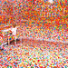 1000 stickers & 1000 kids - The Obliteration Room