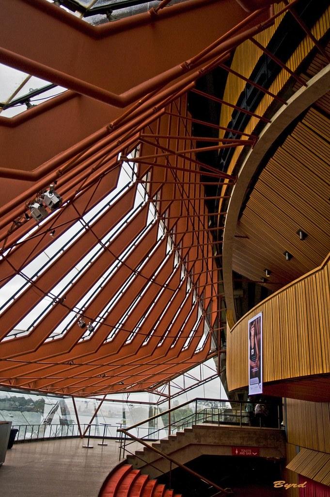 Interior design sydney opera house side lobby to the for Interior design recruitment agencies sydney