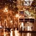 Rainy night on Market Street, San Francisco