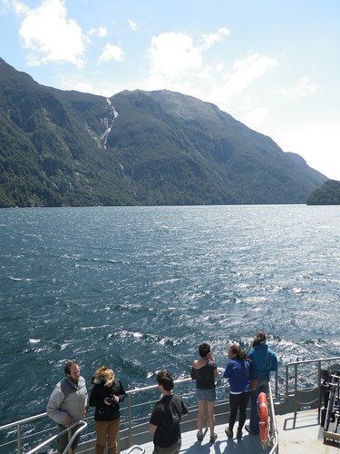 Westerly View off the bow of the Navigator in the Bradshaw Sound; Fiordland, NZ | by OkFoster
