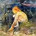 Berthe Morisot - Banista, 1891 at Museo Thyssen-Bornemisza Madrid Spain
