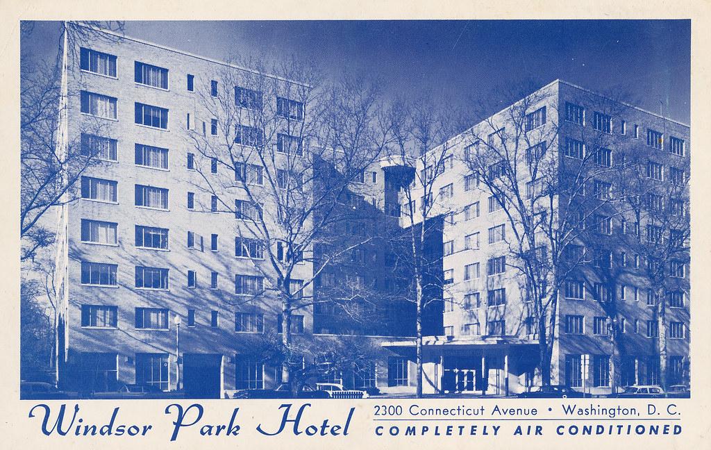 windsor park hotel the soon to be demolished windsor. Black Bedroom Furniture Sets. Home Design Ideas