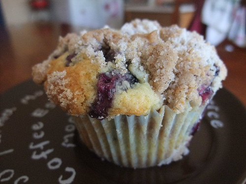 Meyer Lemon Blueberry Muffins with Streusel Topping | by swampkitty
