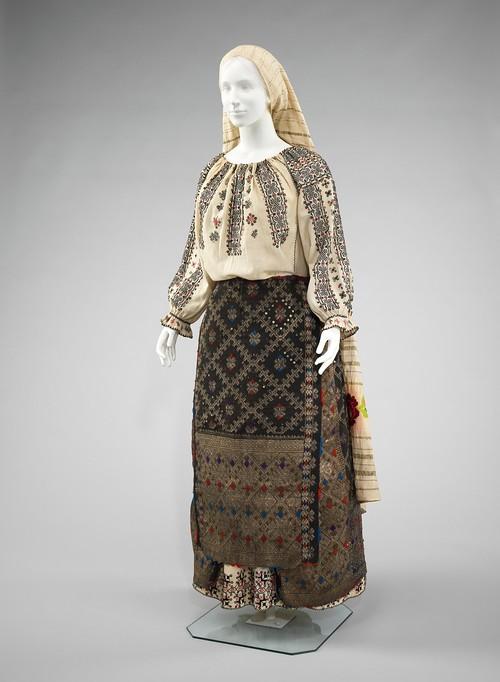 Costum Popular Romanesc Arges Costume Populare