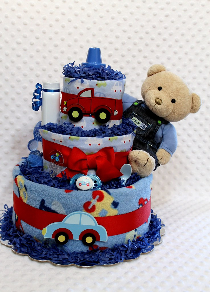Baby Boy Shower Cakes Babyshower