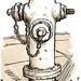 hydrant at union st, north beach SF