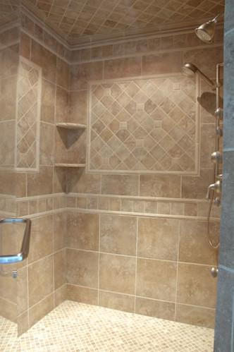 Custom Tiled Shower | Flickr - Photo Sharing!