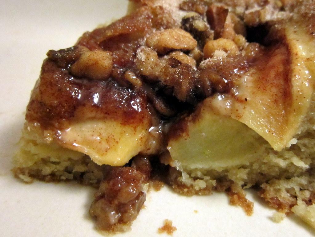 Baking German Apple Cake In Air Fryer