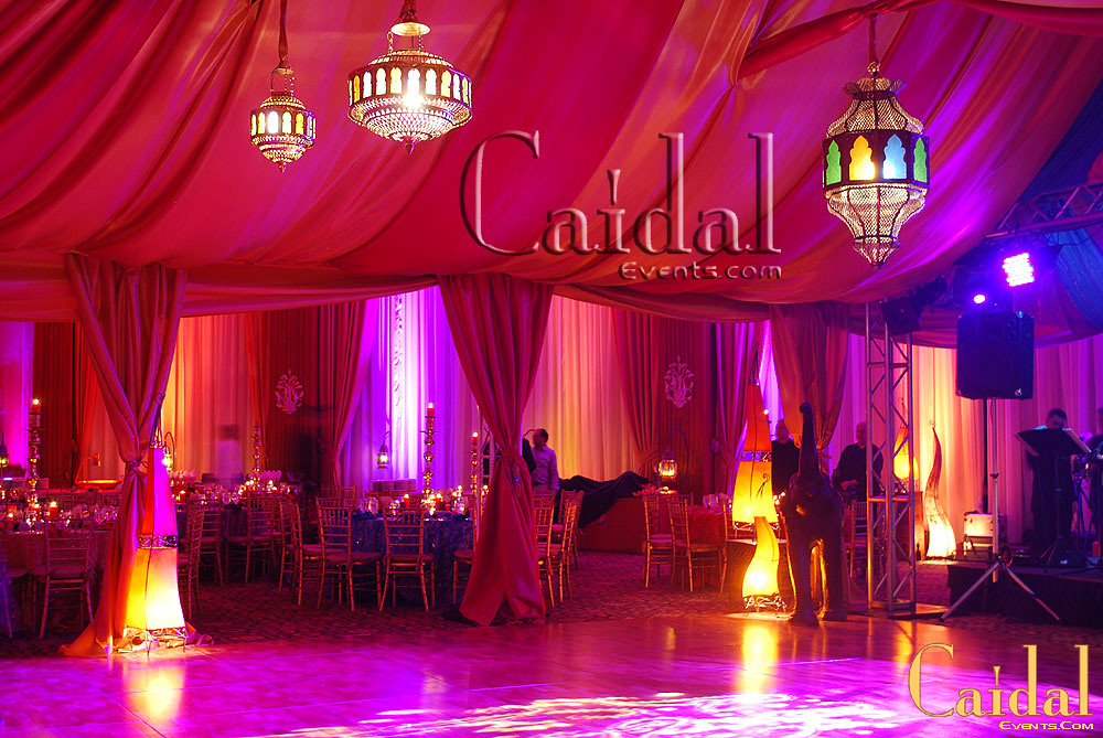 Moroccan Themed Party Decor By Caidal Events At Doral Reso