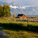 Mormon Row, Grand Teton National Park, Jackson Hole, Wyoming, USA.