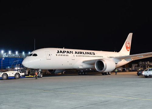 Boeing Unveils First 787 to Enter Service for Japan Airlines | by The Boeing Company
