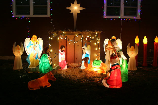 Blow Mold Nativity Flickr Photo Sharing