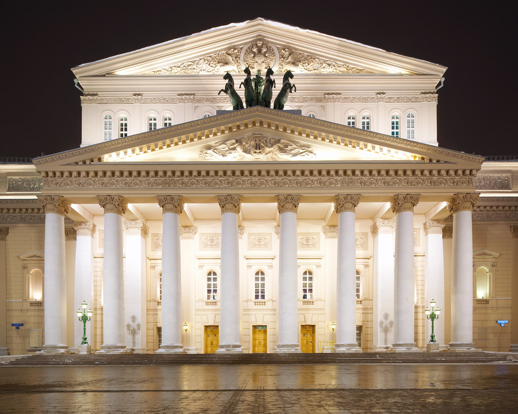 The Bolshoi Theatre On Our First Real Date 8 Years Ago