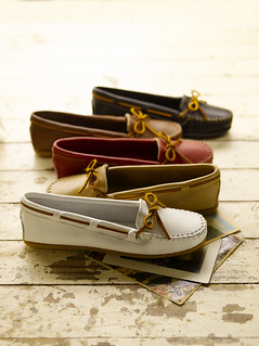 Smooth Leather Moccasins | by Minnetonka Moccasin Co