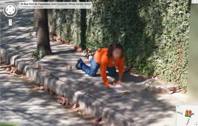 how to take a picture on google maps