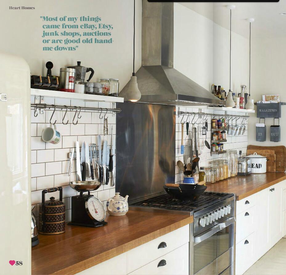 Rustic Kitchen Jobs: Sarah Ellison / Olly Gordon / Heart Home Magazine {white
