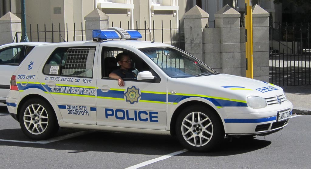 Vw golf police dog unit sa police service protection for South motors vw service