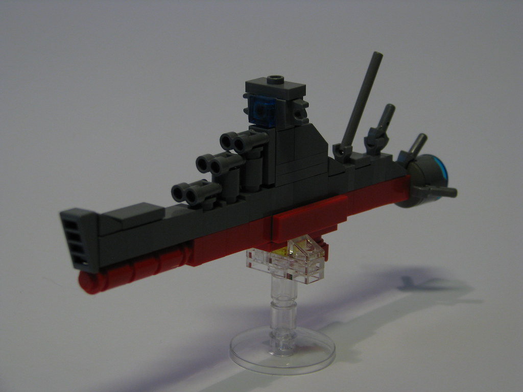 space battleship yamato lego instructions
