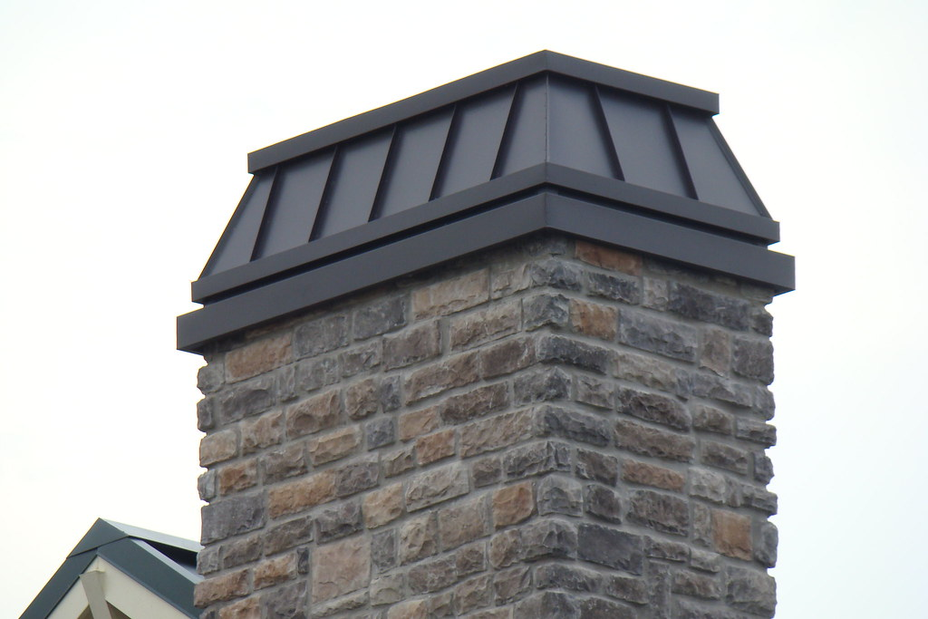 Dark Bronze Chimney Cap Norman Sheet Metal Amp Roofing
