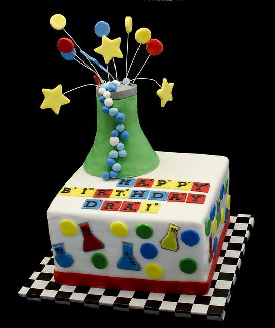 Science Cake Flickr Photo Sharing