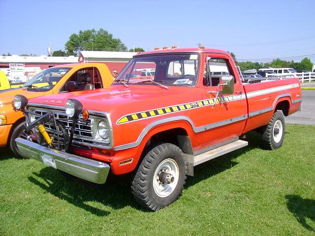 1974 Dodge W 200 Sno Fiter Carlisle All Chrysler
