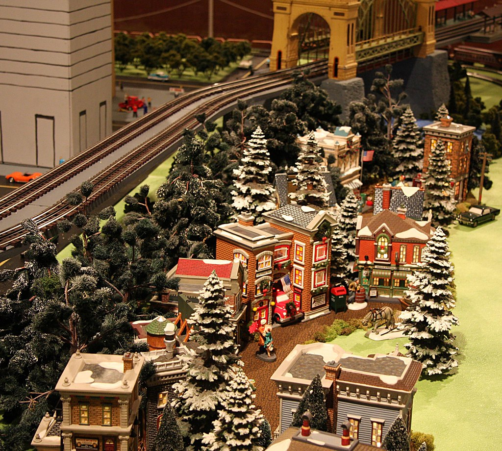 White Christmas Train Set