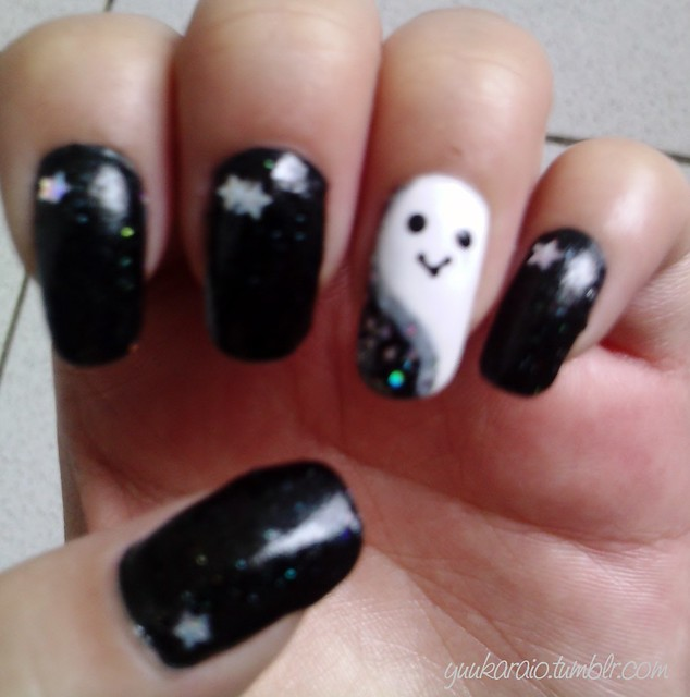 Halloween Nail Art by me | Flickr - Photo Sharing!