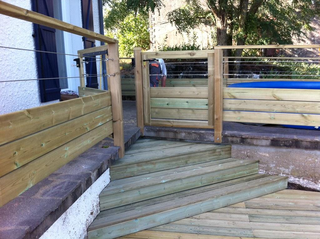 Terrasse Robinier Nantes : terrasse en pin nantes 44 bois expo Flickr