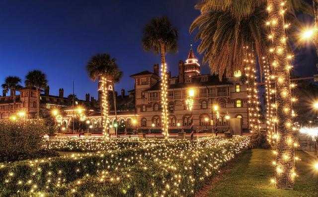 Flagler College St Augustine Nights Of Lights 2011