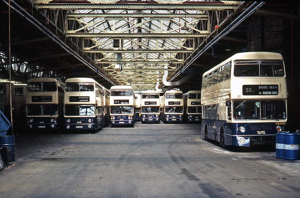 Liverpool Street Bus Garage Birmingham July 1983 Flickr