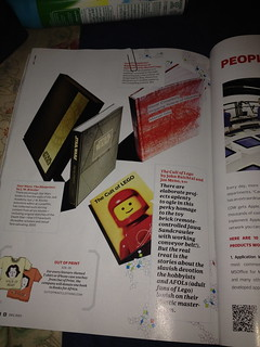 Cult of Lego in Wired! | by John Baichtal