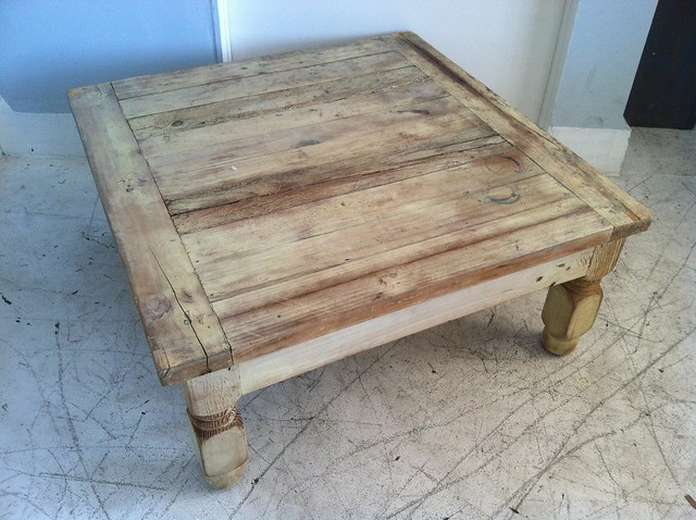 Rustic Pine Wood Coffee Table Flickr Photo Sharing