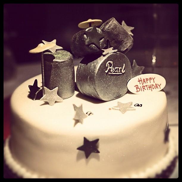 Birthday Cake Pic With Name Vivek : #birthday #cake #band Vivek Kuvelker Flickr