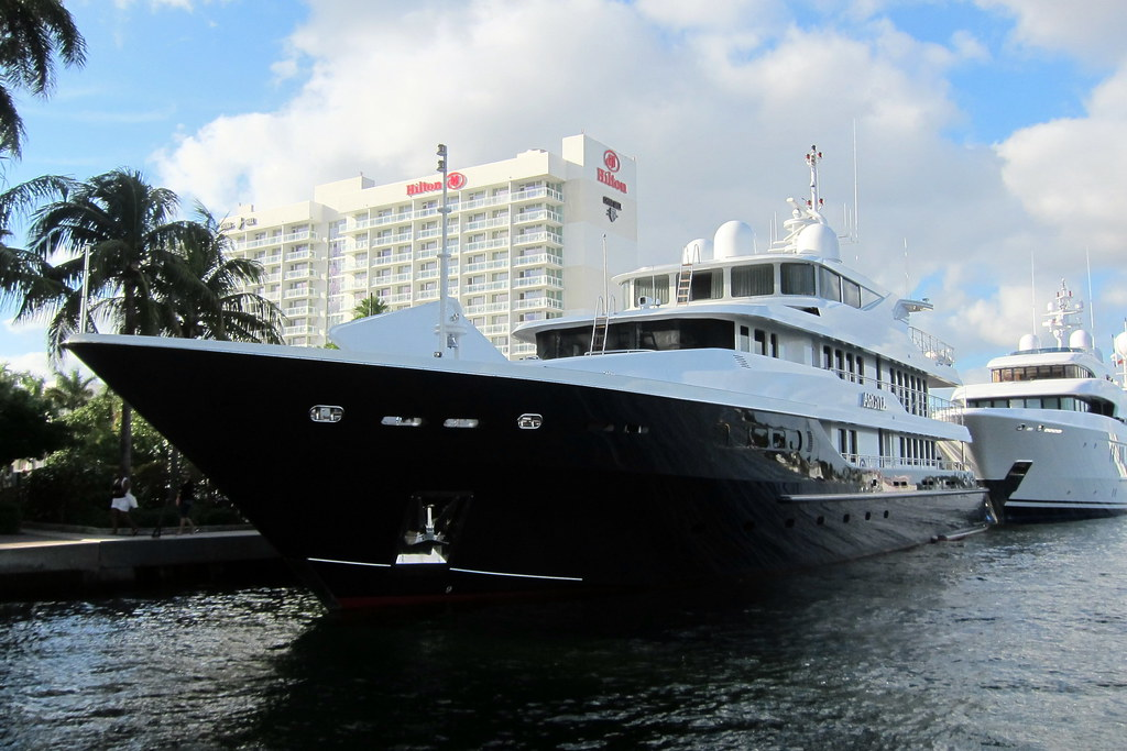Fort lauderdale argyll argyll is a 46 meter luxury yacht flickr for Interior design jobs fort lauderdale