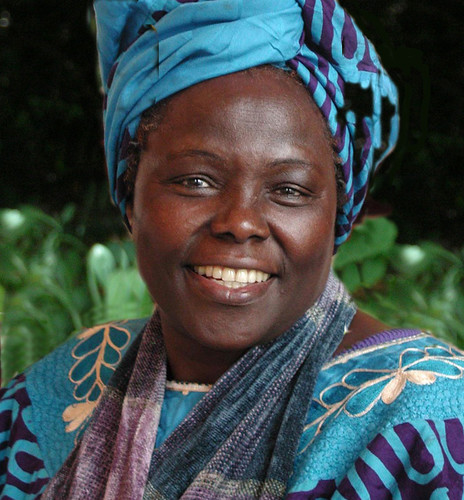 Wangari Maathai | by Oregon State University