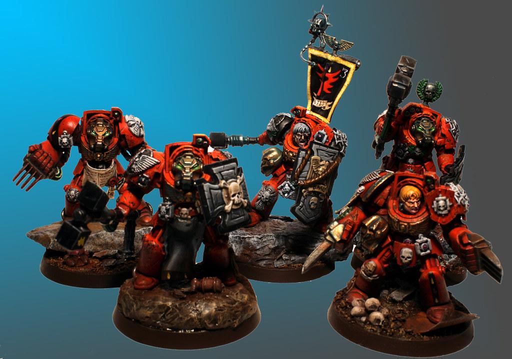 Terminator Blood Angels   Terminator Assaut squad   Flickr