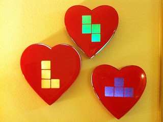 Tetris valentine's candy light boxes | by jessicacharlton
