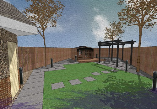 Garden design willerby east yorkshire family garden for Garden design yorkshire