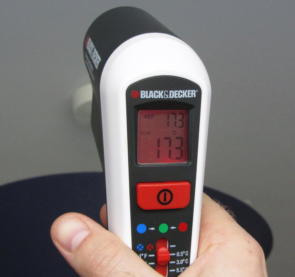 black and decker thermal leak detector manual