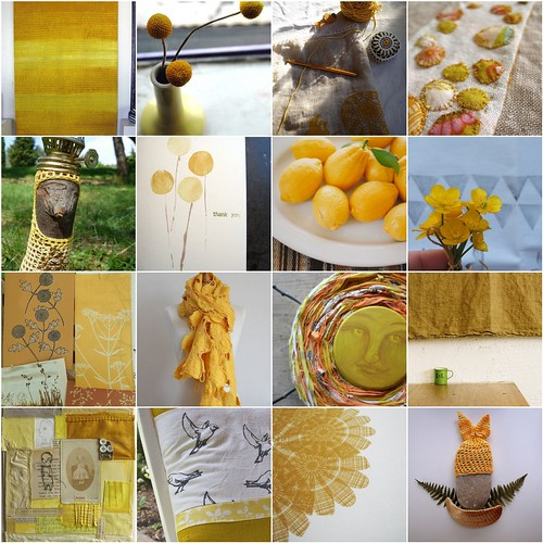 lots and lots of sunny yellow ! | by Cozy Memories