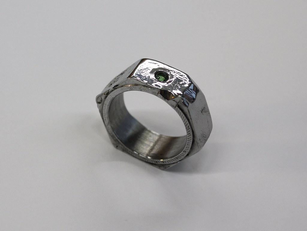 Tsavorite Ring