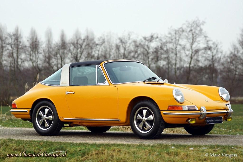 1968 Porsche 911 2 0 Targa Sportomatic Marc Vorgers Flickr