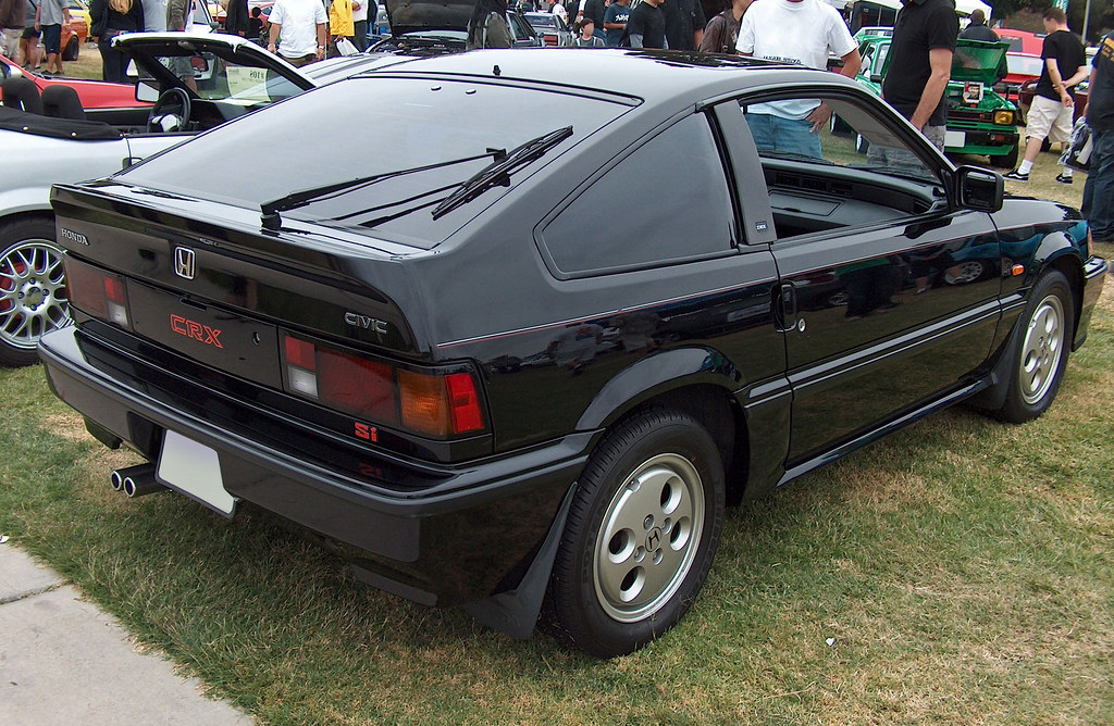 1987 honda civic crx si rear 3q ate up with motor flickr. Black Bedroom Furniture Sets. Home Design Ideas