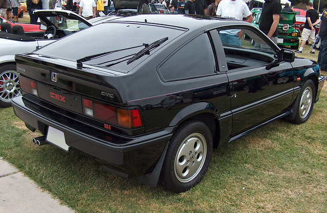 1987 honda civic crx si rear 3q flickr photo sharing. Black Bedroom Furniture Sets. Home Design Ideas