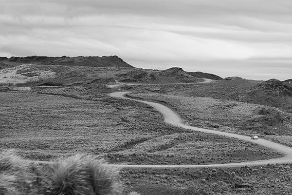 the long and winding (dirt) road | Esteban Sabadotto | Flickr