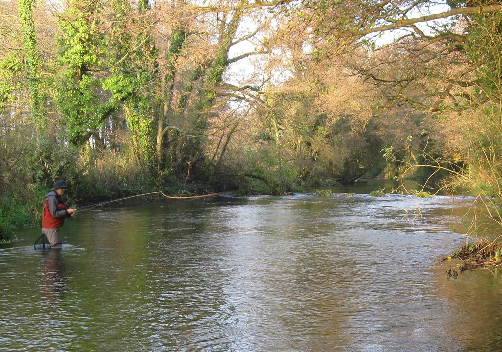 River itchen 10th nov jean sallenave from france for Fly fishing guide jobs