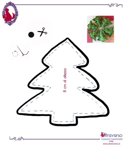 Felt Christmas Tree Pattern Pattern felt christmas trees