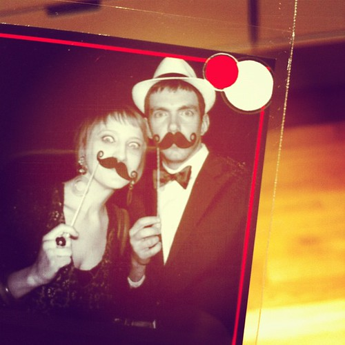 photobooth pic from the drw party | by bitsandbobbins